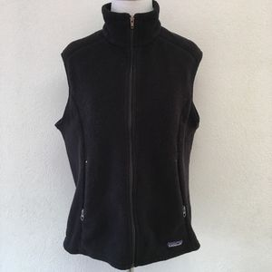 Patagonia Synchilla Womens Black Vest Size Large